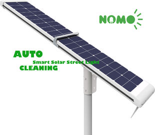 Solar Powered Remote Control Street Light, Lampu Jalan Sensor Gerak Putih